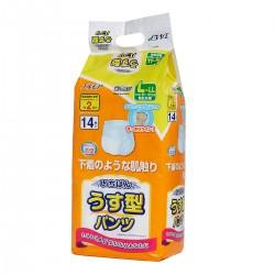 日本一級幫內褲型成人紙尿褲 (薄裝) (中碼-16片裝;大碼-14片裝)