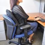 ObusForme 加拿大充氣式矮背護脊椅背墊