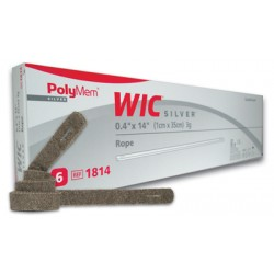 PolyMem 多功能管條形版敷料(含銀)